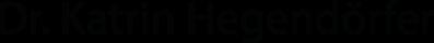 Dr.-Katrin-Hegendörfer-Logo